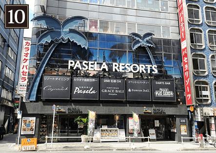 パセラリゾーツ新宿本店に到着です。